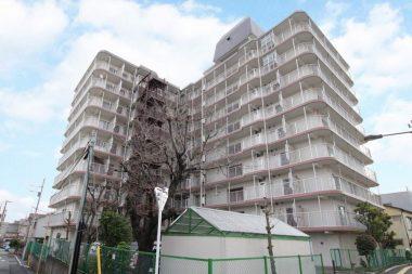 【眺望・南向き陽当たり良好】墨田グリーンマンション