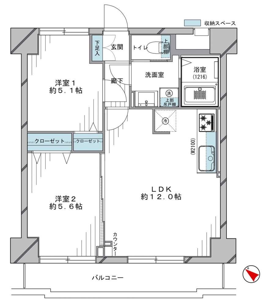 【安心の新耐震基準マンション】ライオンズマンション両国千歳の物件写真11